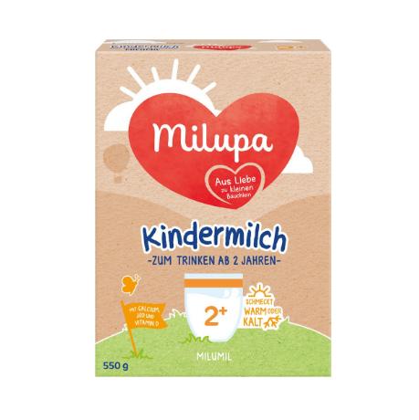 德国milumil米路米幼儿奶粉2+ 2-6岁 550g