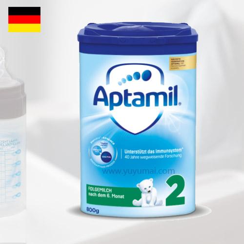 德国爱他美经典蓝版奶粉 2段 6-10个月 800g