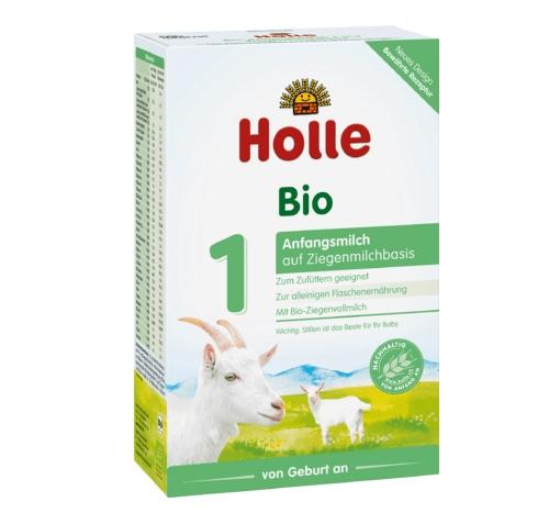 德国Holle泓乐有机羊奶粉1段 0-6个月 400g