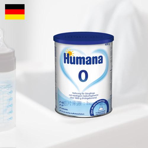 德国瑚玛娜早产儿常规奶粉 体重1800g到出院 400g