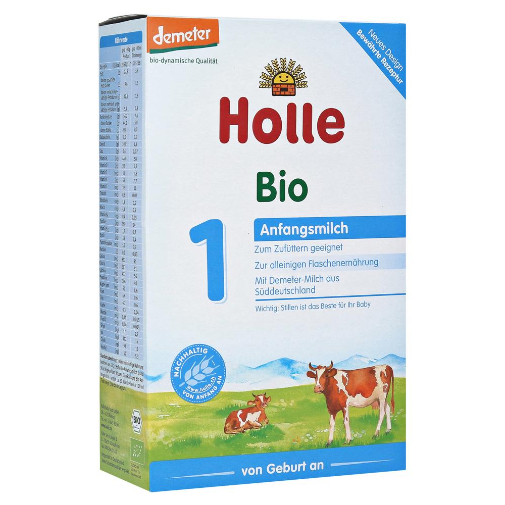 德国Holle泓乐有机奶粉1段 0-6个月 400g