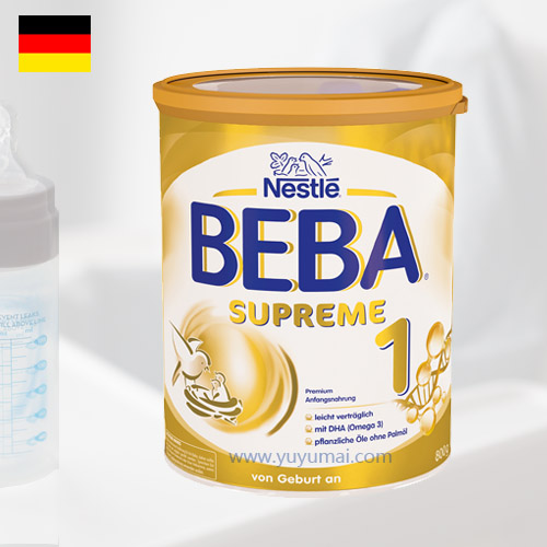 德国原版雀巢贝巴至尊白金婴幼儿配方奶粉 1段,3-6个月,800g