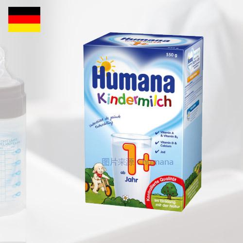 德国瑚玛娜幼儿成长奶粉 1+段 1-2岁 600g