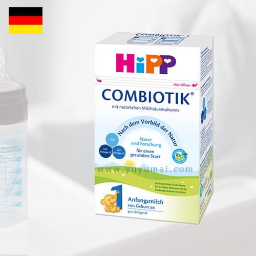 德国喜宝益生元系列奶粉1段 3-6个月 600g