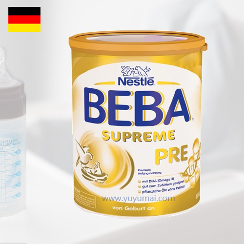 德国原版雀巢贝巴至尊白金婴幼儿配方奶粉 PRE段,0-3个月,800g