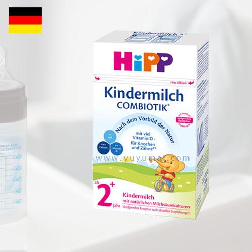 德国喜宝益生元系列奶粉2+段 2-6岁 600g