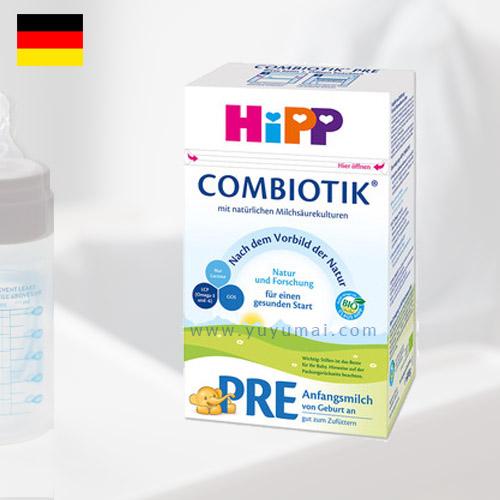 德国喜宝益生元系列奶粉PRE段 0-3个月 600g